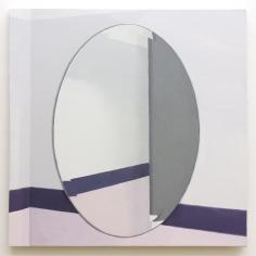 Roger White Pink Mirror, 2015