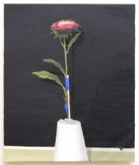 Roger White Silk Flowers (Third Version), 2016