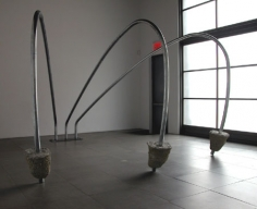 Installation of three the hard way , March 21 – May 9, 2009