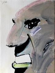 Humphrey, 1969 acrylic on canvas