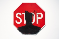 Richard Hambleton Stop Sign, 2010