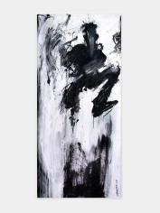 Richard Hambleton Untitled (Jumping Purple Shadowman), 2009
