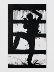 Richard Hambleton Climbing Shadow, 1985