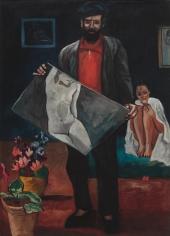 "FRANCIS PICABIA, ""Montparnasse"", ca. 1941-42"