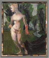 """Medea"", 2017 Mixed media on canvas in artist's frame"