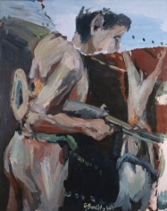 "Georg Baselitz ""Ein Jäger (A Hunter)"", 1968"