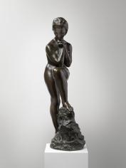 """""""Mädchen mit aufgestütztem Bein"""", 1910"""