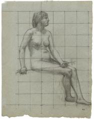 """""""Étude pour La Normandie (Study for Normandy)"""", 1887"""