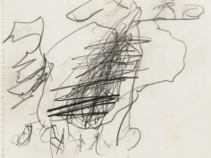 """""""Untitled"""", 1999 Pencil on paper"""