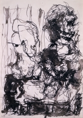 """P.D."", 1962 Ink on paper"