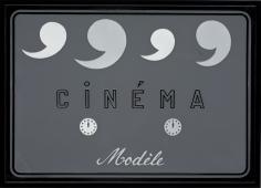 """Marcel Broodthaers """"Cinéma Modèle"""", 1970"""