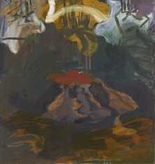 """Untitled"", 1989 Oil on canvas"