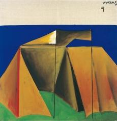 """""""Zelt 9 – dithyrambisch (Tent 9 – dithyrambic)"""", 1965"""