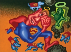 """""""Superman and the Super Dogs Find God in the Asteroid Belt"""", 2016"""