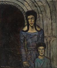 """""""Mère et enfant"""", ca. 1939-1940"""