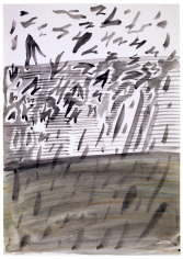 """""""Untitled (Abstract Composition, Falling Leaves)"""", ca. 1969"""