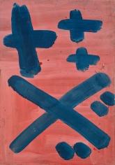 """""""Untitled"""", 1968 Oil on cardboard"""