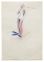 """""""Solides Mädchen (Sturdy Girl)"""", ca. 1969"""