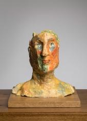 """""""Fragonard"""", 2017 Clay, wax"""