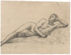"""""""Étude pour Orphée (Study for Orpheus)"""", 1883"""