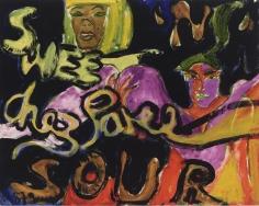 """Peter Doig """"Sweet N' Sour"""", 1985"""