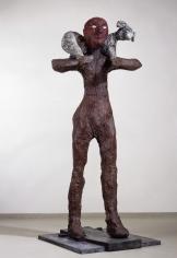 """Shepherd"", 1986 Painted bronze, Edition: 6, Cast 6/6"