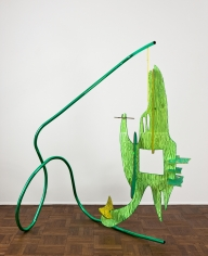 "Aaron Curry ""Greenegalbwrry"", 2011"
