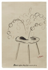 """Beer Coaster Fountain"", ca. 1967-1968"