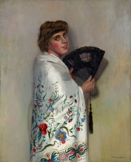 "Félix Vallotton ""Le chale blanc (The White Shawl)"", 1911"