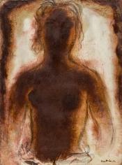 """Jean Fautrier """"Buste de femme nue (Bust of a female nude)"""", 1939"""