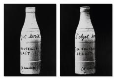 """""""L'objet écrit (La bouteille de lait)"""", 1967"""