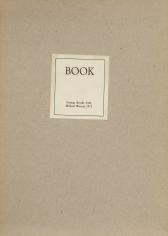 "George Brecht ""Book"", 1964/1972"