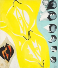 """Yellow between two Times"", 1965"