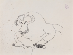 """""""Untitled"""", 1986 Felt-tip pen on paper"""
