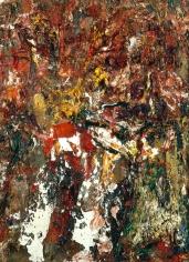 "Eugène Leroy ""Ides de mars - iris"", 1992"