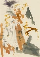 """Untitled"", 1989 Gouache, pencil on paper"