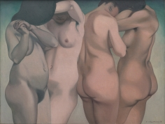 """Félix Vallotton """"Quatre torses (Four torsos)"""", 1918"""