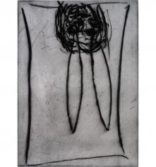 """Georg Baselitz """"Samuel Beckett BING"""", 1991"""