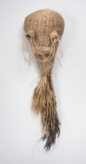 "Enrico David ""Untitled (wheat, willow, lavender head)"", 2011"