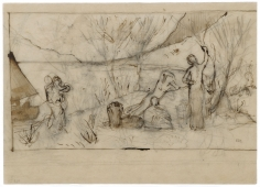 """""""Étude pour Doux Pays (Study for Pleasant Land)"""", 1882"""