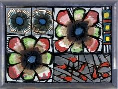 """Markus Lüpertz """"Eisblume"""", 2001"""