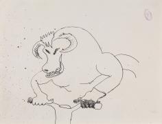"""""""Bull Rider"""", 1986"""