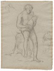 """Étude pour Le Sommeil (Study for Sleep)"", 1867"