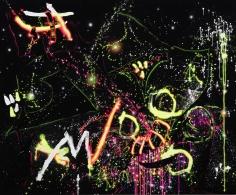 """""""Headspace"""", 2016 Acrylic gouache on canvas"""