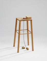 "Sigmar Polke ""Potato Machine - Apparatus Whereby One Potato Can Orbit Another"", 1969"