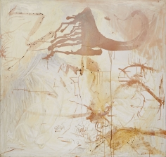 """""""Untitled"""", 1990 Silver nitrate, silver bromide, silver sulphate, dammar on linen"""