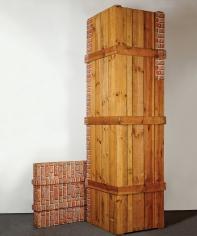 """""""Deux caisses"""", 1975"""