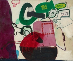"""""""Untitled"""", 1962 Oil on canvas"""