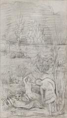 """""""Esquisse pour L'Été (Sketch for Summer)"""", 1891"""
