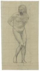 """""""Étude pour Le Christ aux liens (Study for Christ with Tormentors)"""", 1858"""